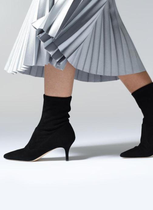Ankle boots L.K. Bennett Lou Black view from underneath / model view