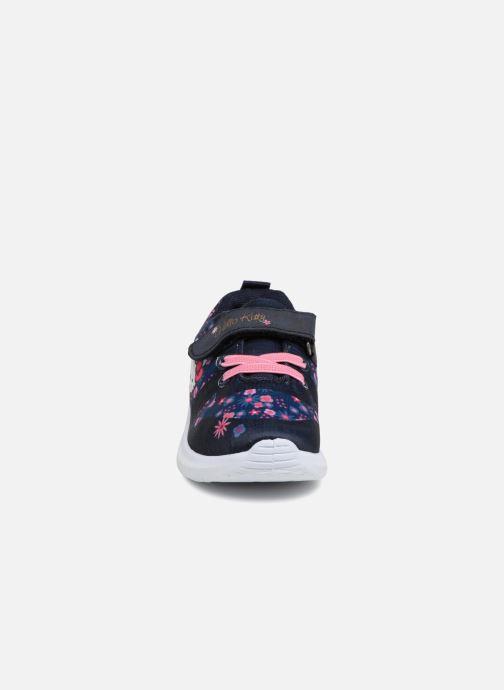 Baskets Hello Kitty Datcha Bleu vue portées chaussures
