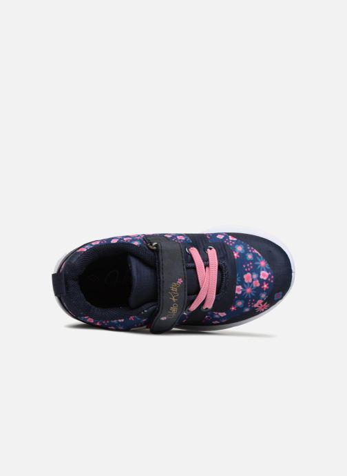 Baskets Hello Kitty Datcha Bleu vue gauche