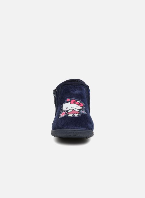 Slippers Hello Kitty Lagon Blue model view