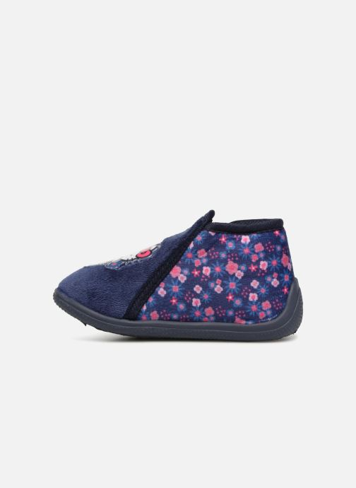 Slippers Hello Kitty Lagon Blue front view