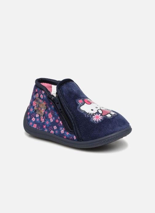 Slippers Hello Kitty Lagon Blue detailed view/ Pair view