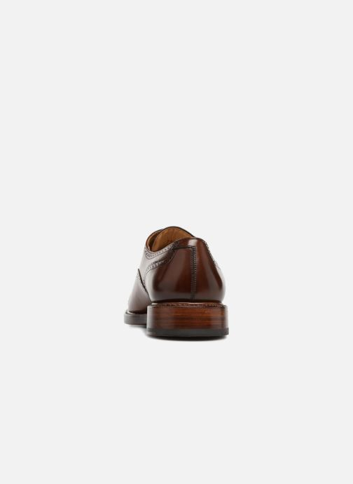 Lace-up shoes Marvin&Co Luxe Walsham - Cousu Goodyear Brown view from the right