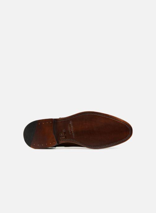 Chaussures à lacets Marvin&Co Luxe Walsham - Cousu Goodyear Marron vue haut