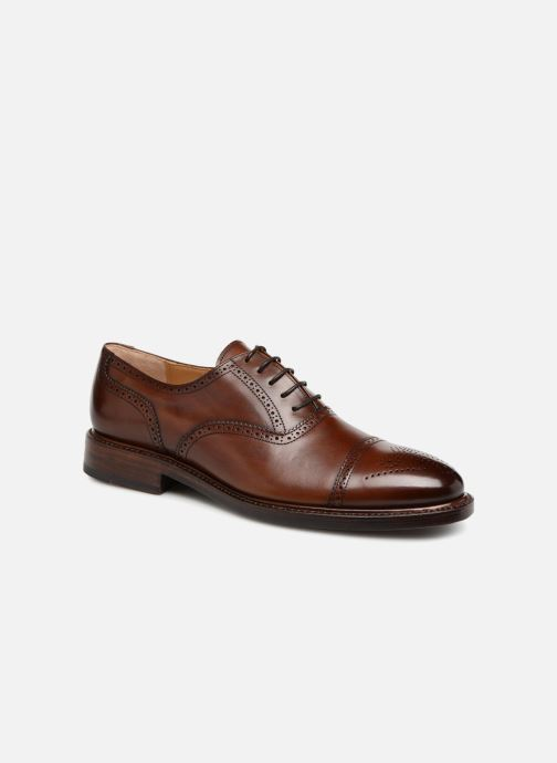 Lace-up shoes Marvin&Co Luxe Walsham - Cousu Goodyear Brown detailed view/ Pair view