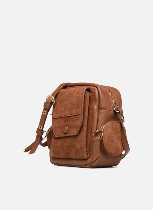 51fdab72e76 Liebeskind Berlin CamBag S (Brown) - Handbags chez Sarenza (331643)