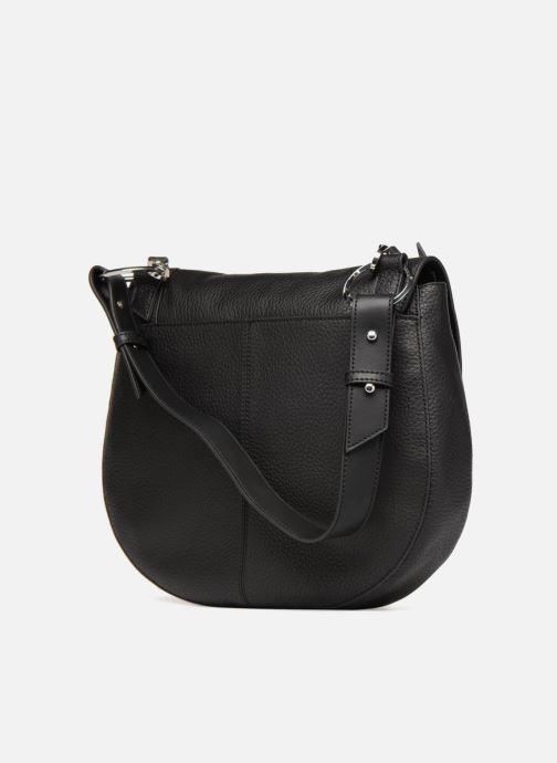 Handtaschen Liebeskind Berlin Hobo MM schwarz ansicht von rechts