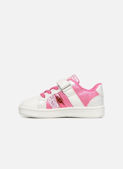 Sneaker Peppa Pig Noam rosa ansicht von vorne
