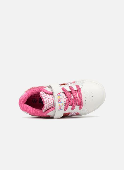Sneaker Peppa Pig Noam rosa ansicht von links