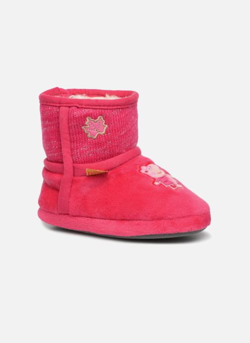 Chaussons Peppa Pig Roxane Rose vue détail/paire