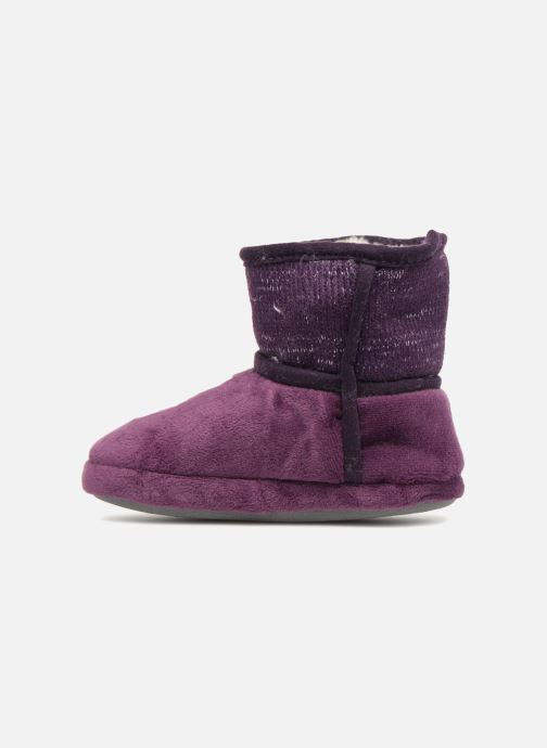 Chaussons Peppa Pig Roxane Violet vue face