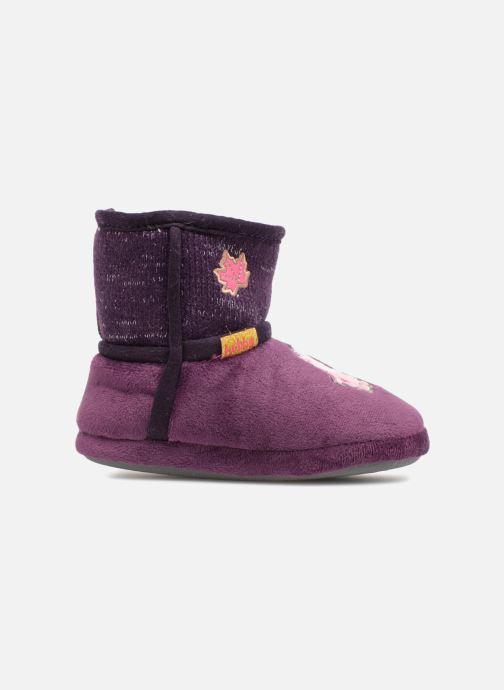 Slippers Peppa Pig Roxane Purple back view