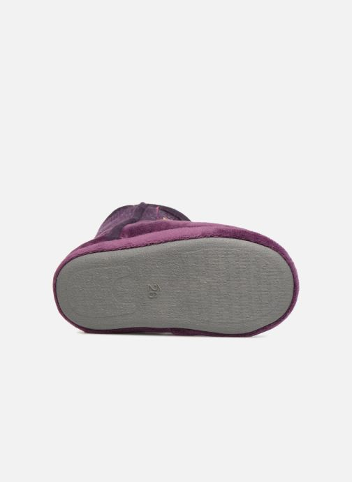 Pantofole Peppa Pig Roxane Viola immagine dall'alto