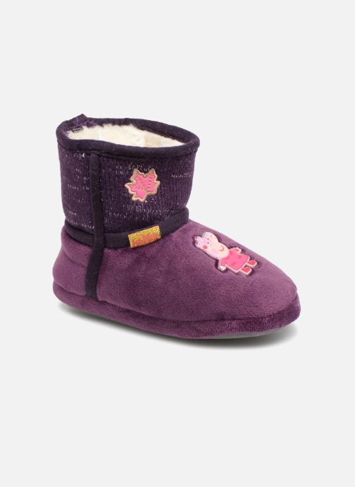 Slippers Peppa Pig Roxane Purple detailed view/ Pair view