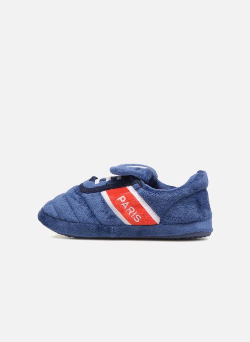 Pantofole PSG Alban Azzurro immagine frontale