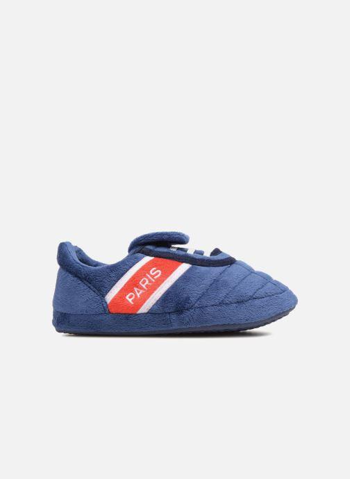 Pantofole PSG Alban Azzurro immagine posteriore