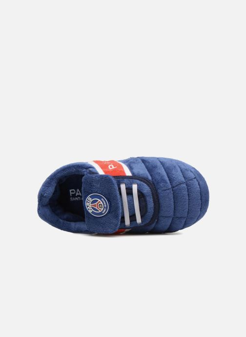 Slippers PSG Alban Blue view from the left