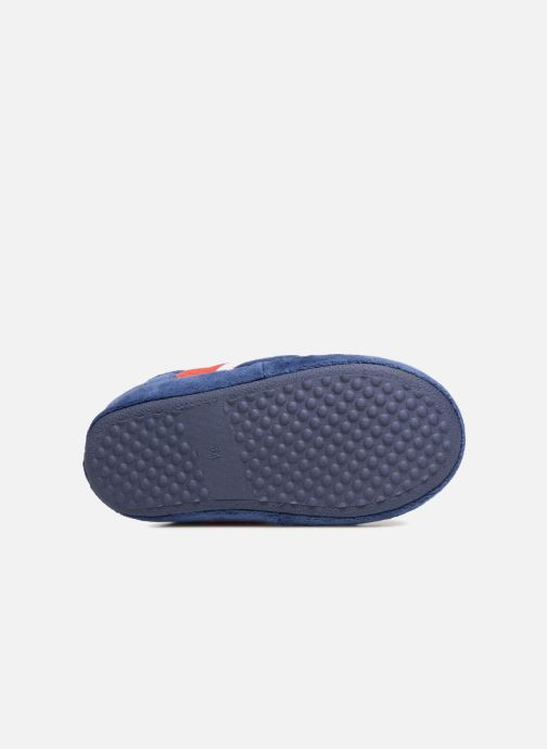 Slippers PSG Alban Blue view from above