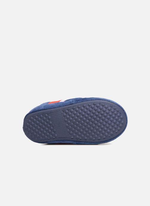 Pantofole PSG Alban Azzurro immagine dall'alto