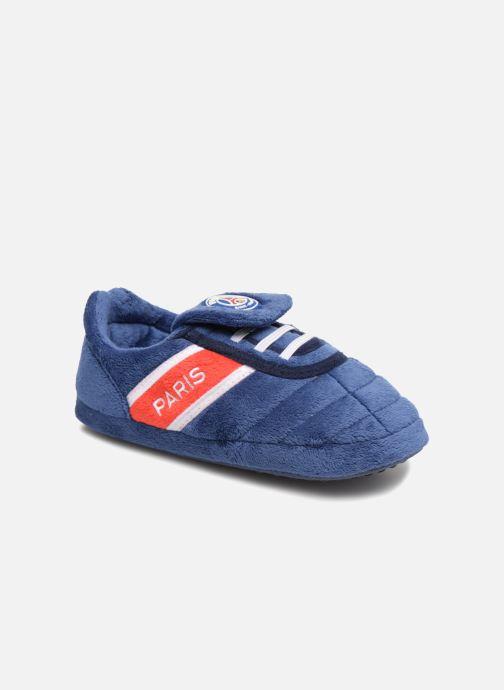 Hjemmesko PSG Alban Blå detaljeret billede af skoene