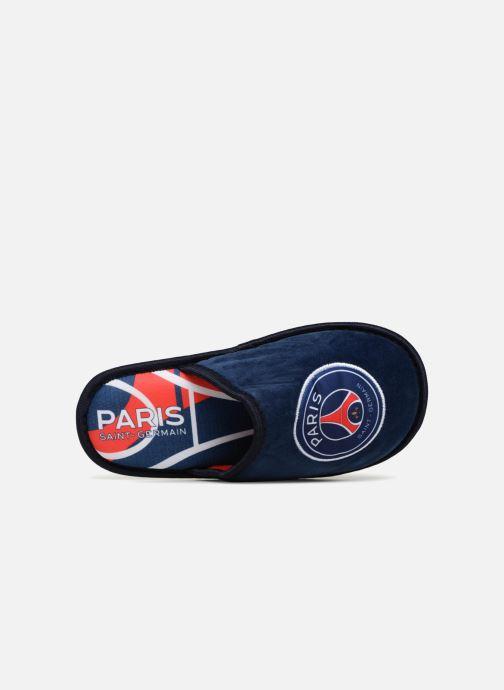 Pantoffels PSG Dylan Blauw links