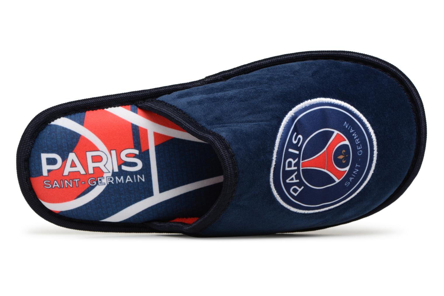 Slippers PSG Dylan Blue view from the left