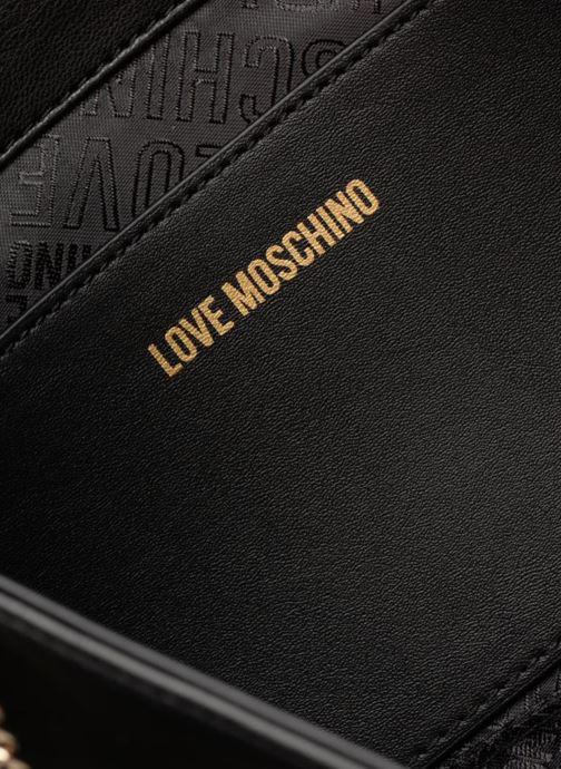 Clutch Love Moschino Pochette Quilted Zwart achterkant