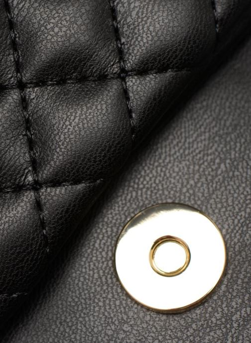 Clutch Love Moschino Pochette Quilted Zwart links