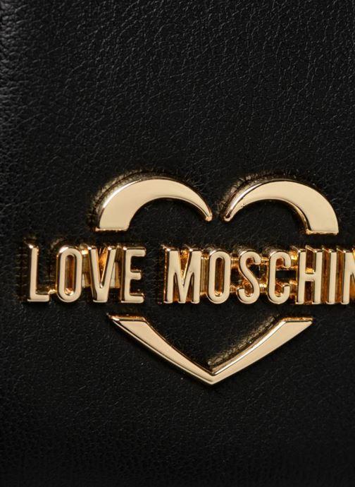Borse Love Moschino Crossbody Quilted Nero immagine sinistra