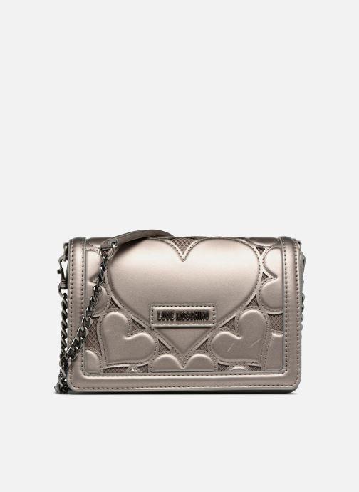 Handtaschen Love Moschino Crossbody Metallic Love silber detaillierte ansicht/modell