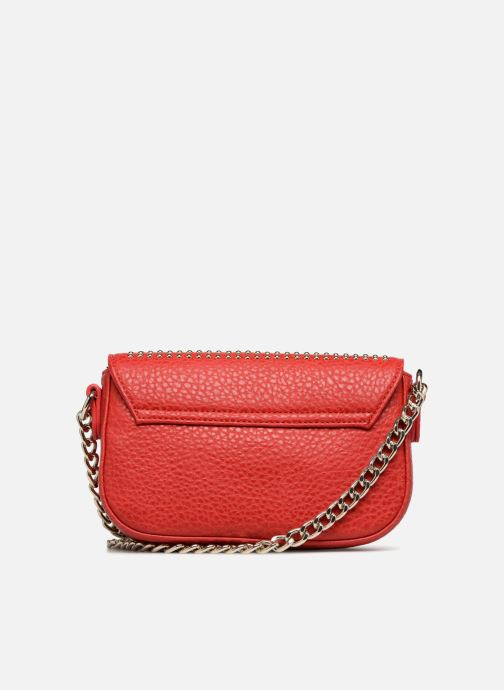 Handtaschen Love Moschino Crossbody Love Studs rot ansicht von vorne