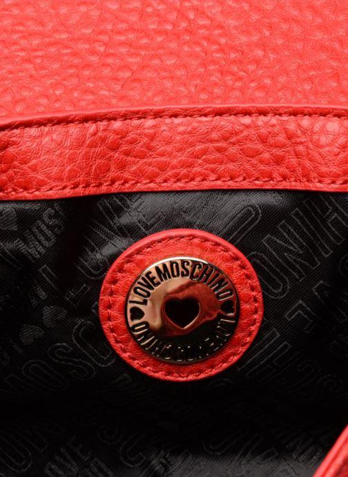 Handtaschen Love Moschino Crossbody Love Studs rot ansicht von hinten