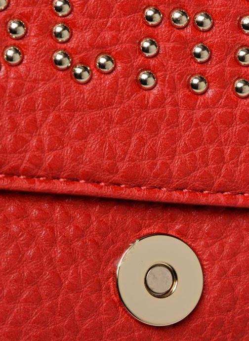 Handtaschen Love Moschino Crossbody Love Studs rot ansicht von links