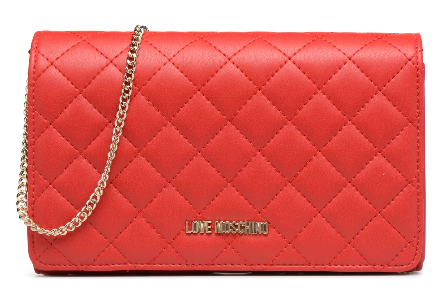 Evening Moschino Bag Love ROSO 0500 Quilted Crossbody fgnn0aBT