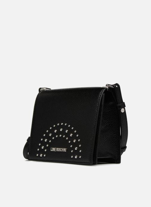 Handtaschen Love Moschino Crossbody IG schwarz schuhe getragen