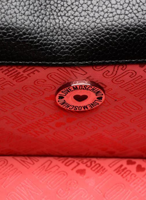 Handtaschen Love Moschino Crossbody IG schwarz ansicht von hinten