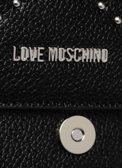 Handtaschen Love Moschino Crossbody IG schwarz ansicht von links