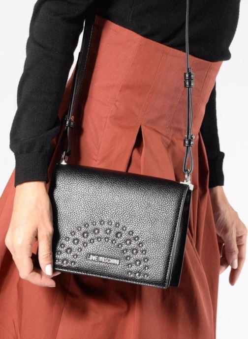 Handtaschen Love Moschino Crossbody IG schwarz ansicht von oben