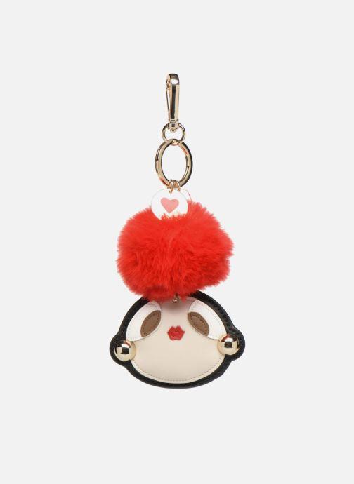 Marroquinería pequeña Love Moschino Pompom Girl Rojo vista de detalle / par