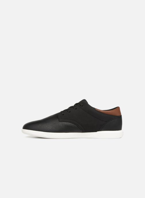 Baskets Jack & Jones JFWJAMIE PU COMBO Noir vue face