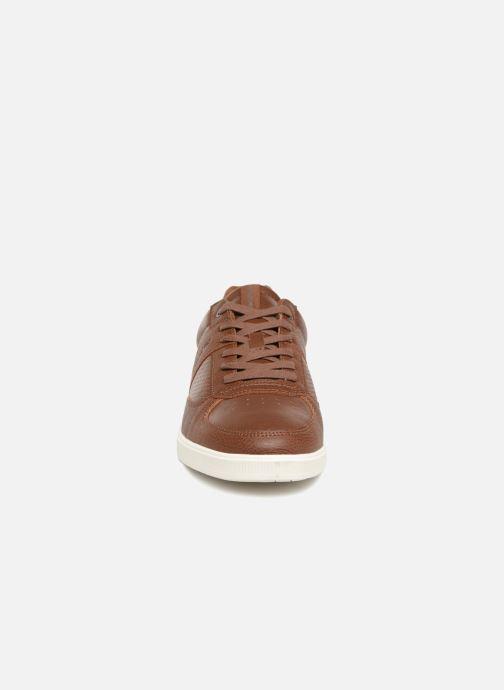 Sneakers Jack & Jones JFW KLEIN PU Marrone modello indossato