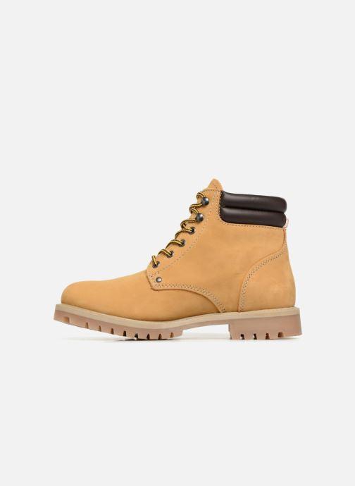 Boots en enkellaarsjes Jack & Jones JFWSTOKE NUBUCK BOOT NOOS Beige voorkant