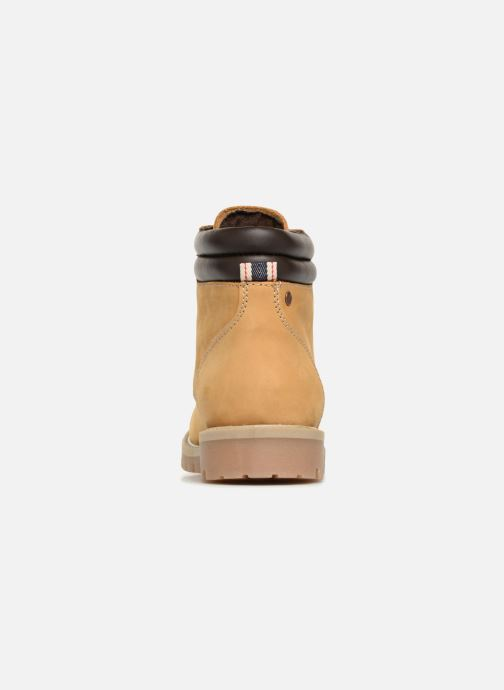 Ankle boots Jack & Jones JFWSTOKE NUBUCK BOOT NOOS Beige view from the right