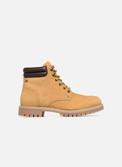 Boots en enkellaarsjes Jack & Jones JFWSTOKE NUBUCK BOOT NOOS Beige achterkant