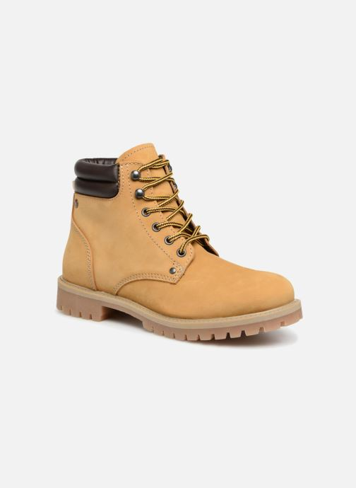 Bottines et boots Jack & Jones JFWSTOKE NUBUCK BOOT NOOS Beige vue détail/paire