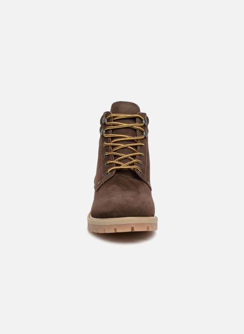 Bottines et boots Jack & Jones JFWSTOKE NUBUCK BOOT NOOS Marron vue portées chaussures
