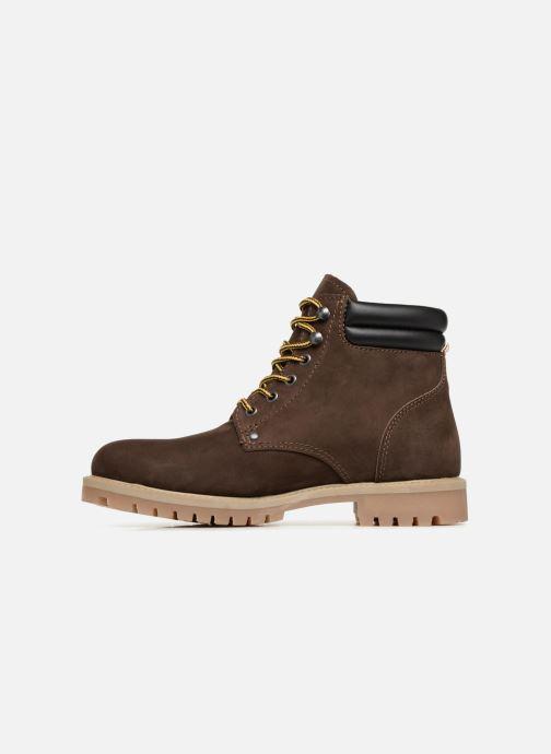 Bottines et boots Jack & Jones JFWSTOKE NUBUCK BOOT NOOS Marron vue face