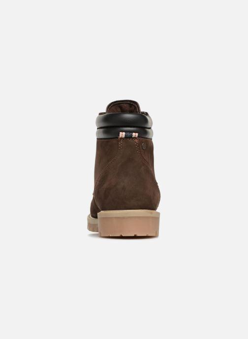Bottines et boots Jack & Jones JFWSTOKE NUBUCK BOOT NOOS Marron vue droite