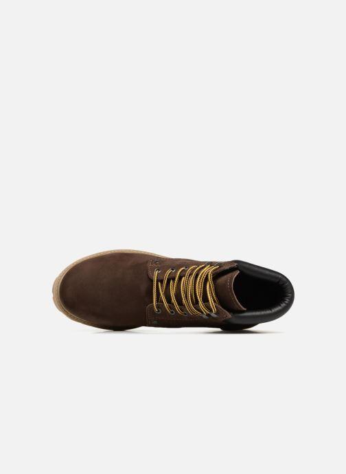 Bottines et boots Jack & Jones JFWSTOKE NUBUCK BOOT NOOS Marron vue gauche