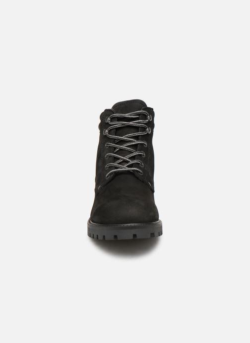 Bottines et boots Jack & Jones JFWSTOKE NUBUCK BOOT NOOS Noir vue portées chaussures